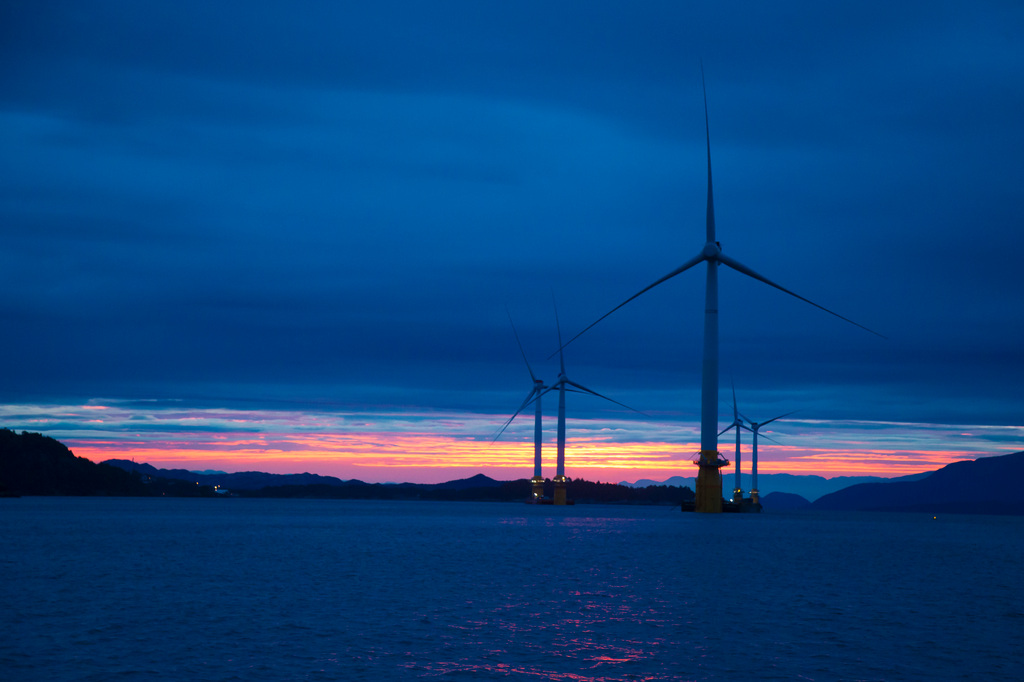 What's happening in floating wind in Europe?